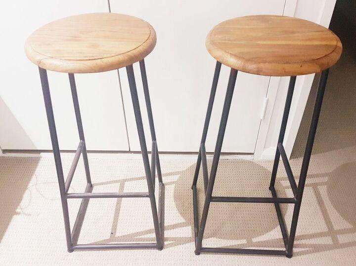 twisted sister sass bar stools
