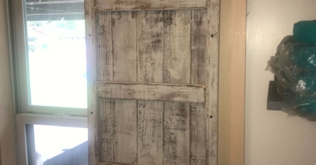 Laundry Room Barn Door Shutters Diy
