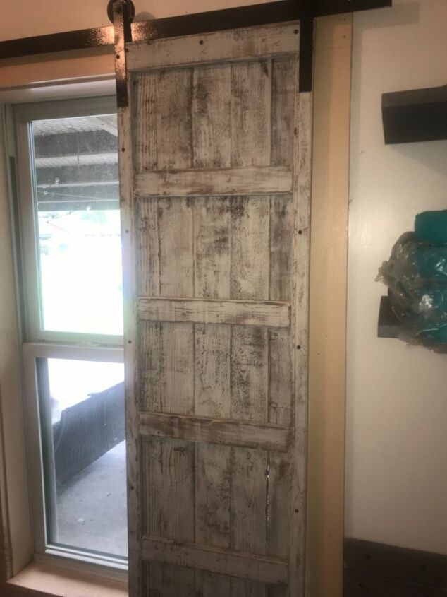 Laundry Room Barn Door Shutters Diy