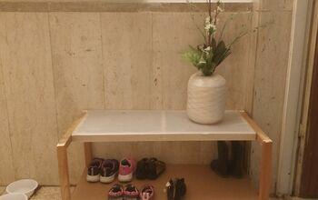 Ikea Coat Closet to Shoe Rack Makeover
