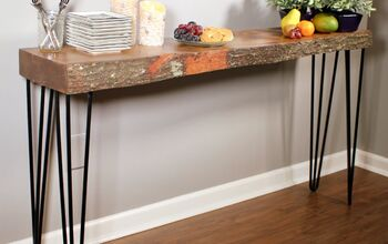 17 Natural Live Edge Wood Projects to Add Authenticity to Your Home