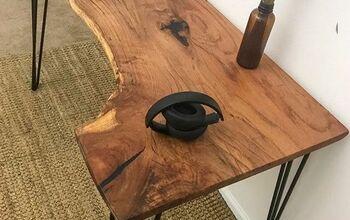 Custom Pecan Desk