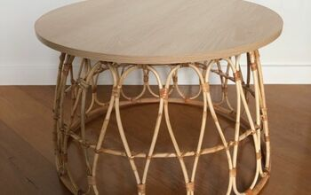 Basket Coffee Table Hack