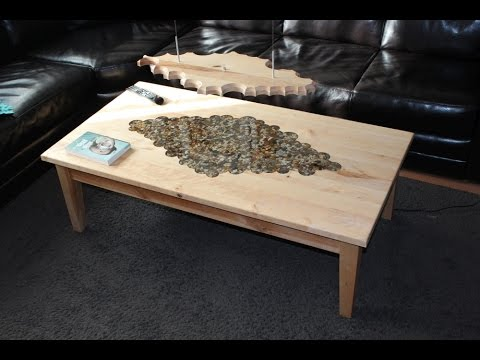 s epoxy resin projects, Convert an Old Table