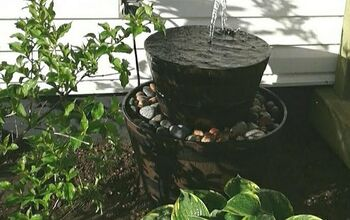 Soothing Sounds- A DIY Outdoor Fountain