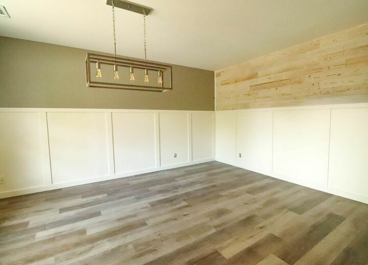 how to get a shiplap look without any power tools