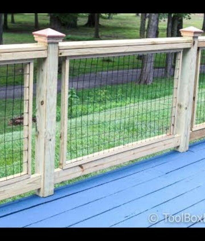 s chicken wire ideas, Wonderful Chicken Wire Fence for Decks