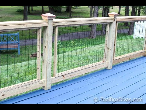 s chicken wire ideas, Wonderful Chicken Wire Fence for Decks