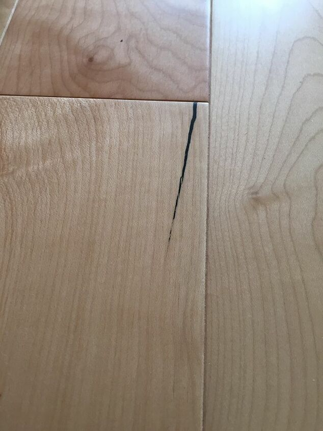 q how do i remove sharpie from wood floor