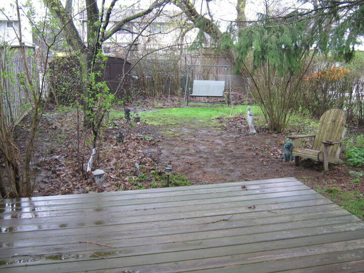 q how to fix my backyard