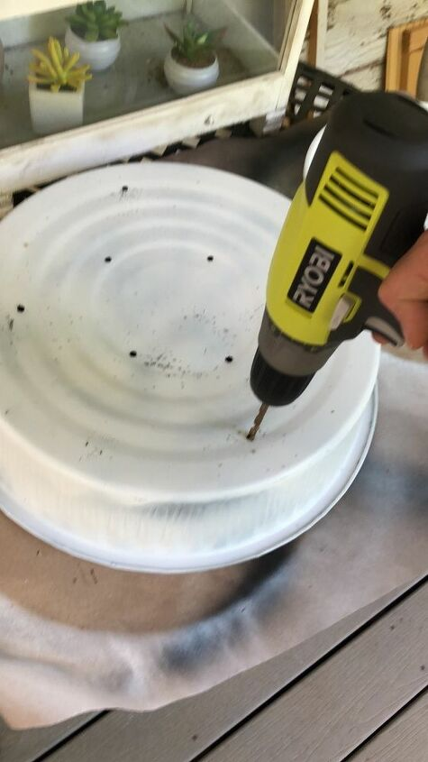 from rusty pan to succulent pot in a pot challenge