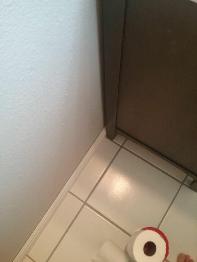 q making bathroom vanity fit better