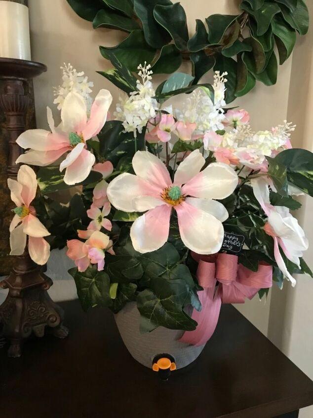 flower arrangement beverage dispenser