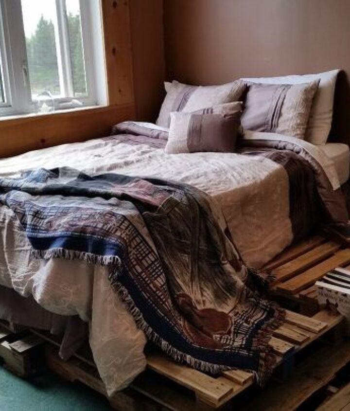 pallet bed frame base