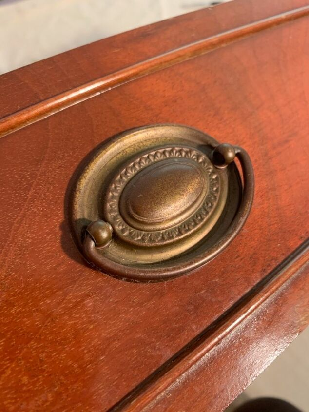 q cleaning antique brass drawer pulls