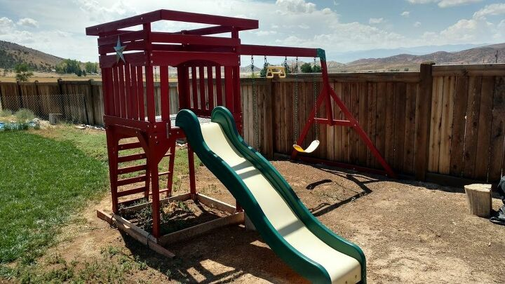 q how do i repaint a plastic children s slide