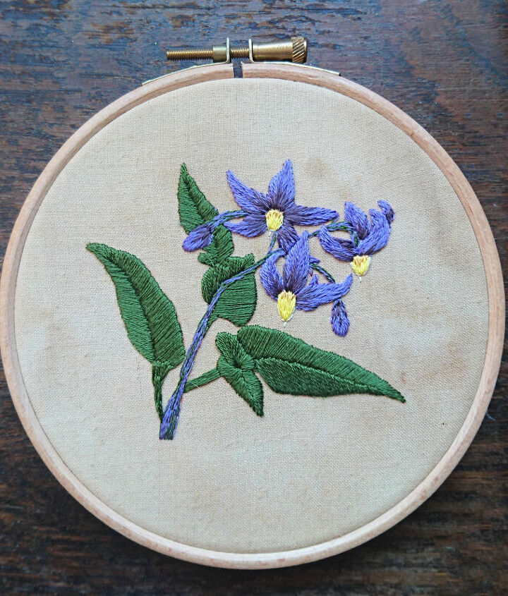 s embroidery ideas, Make Beautiful Flower Hoop Art