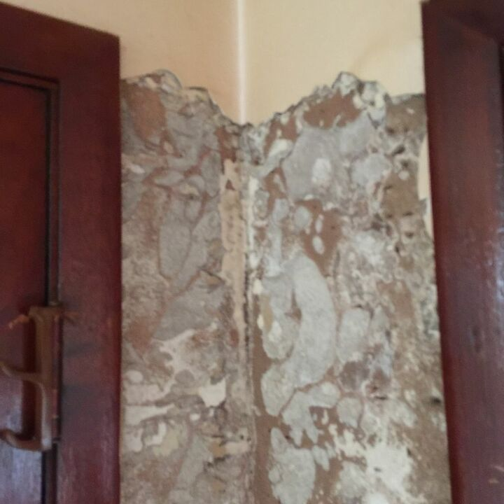 q how can i fix half a area that termites ate