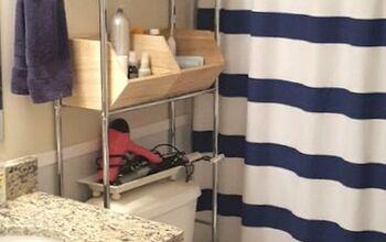 Nautical Cottage Bathroom Simple Upgrade