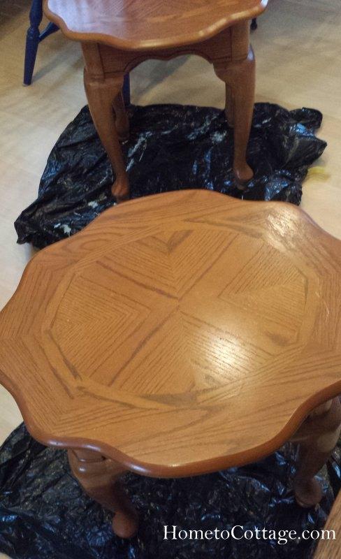 diy a coastal themed table