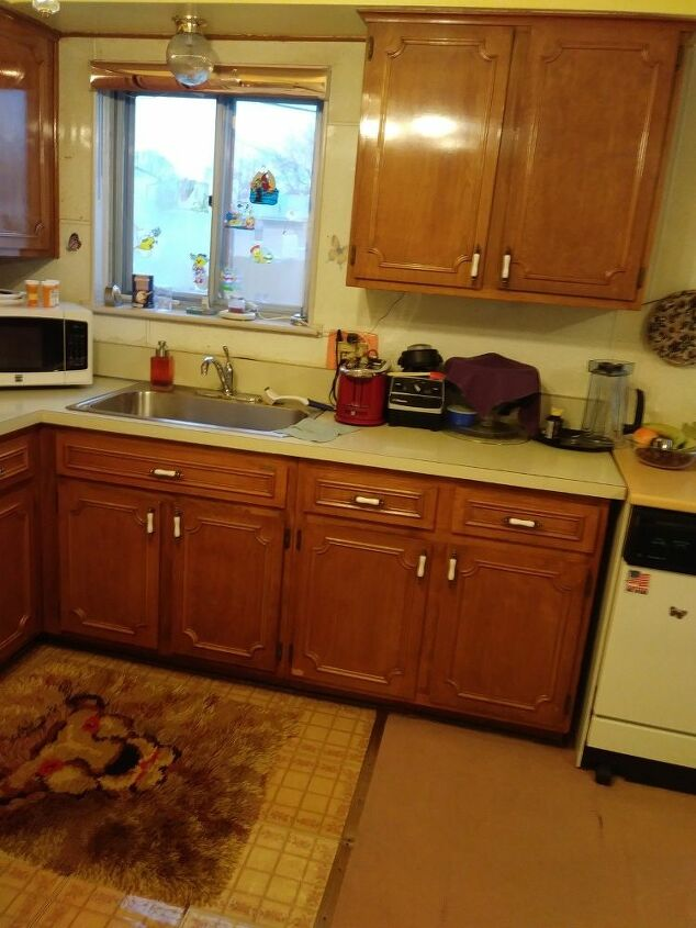 q is there any way that i can restain these cabinets myself