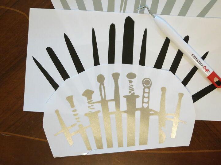 iron throne vinyl decal game of thrones craft