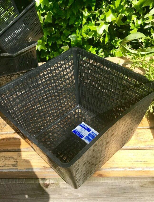 Special pond plant baskets