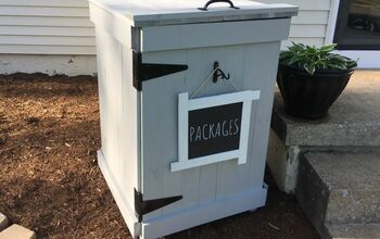 Stop PORCH PIRATES With This DIY Mailbox!
