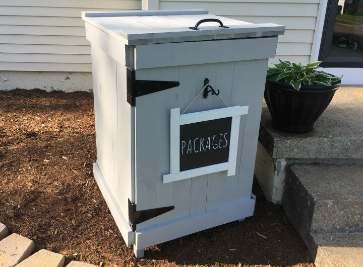stop porch pirates with this diy mailbox