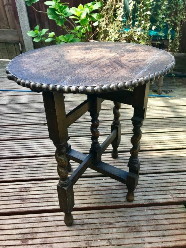 Old worn table
