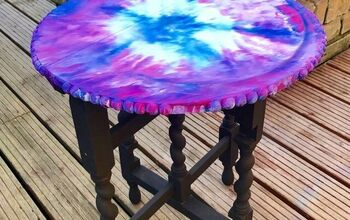 A Fun Way to Brighten up an Old Table Using Unicorn Spit Gel & Stain