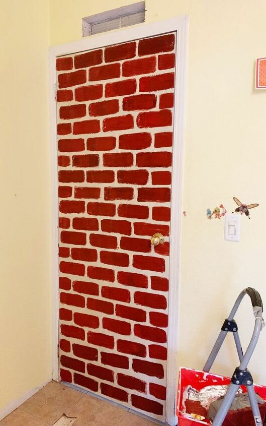 harry potter brick wall tutorial