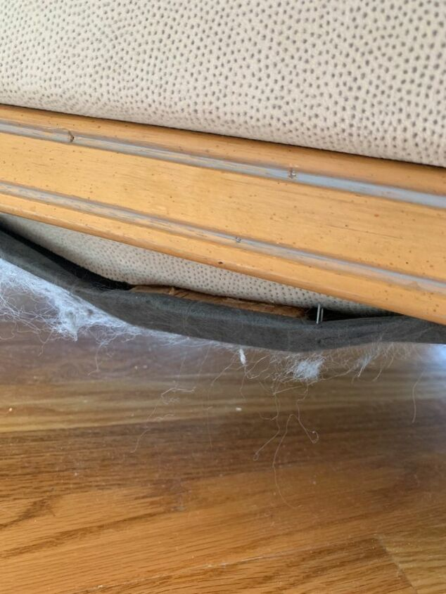 q repair loose springs and supports under sofa