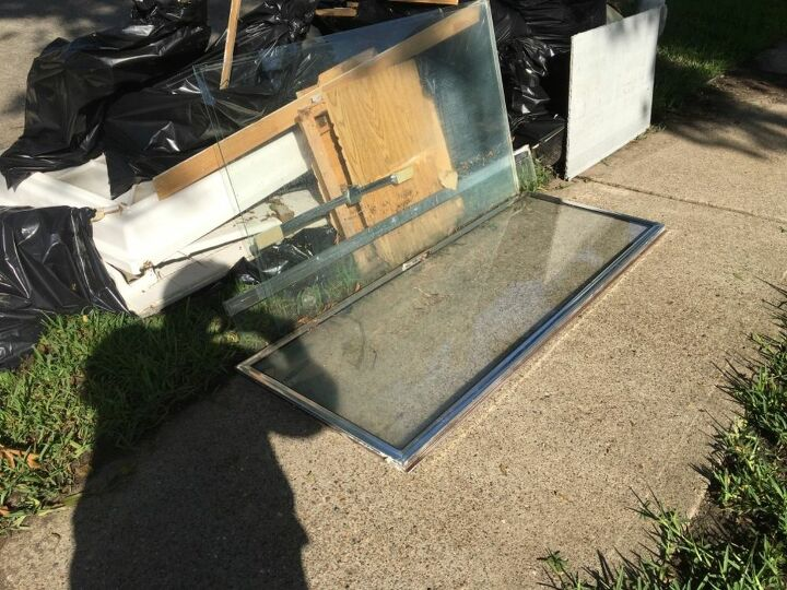 q how to reuse a shower glass