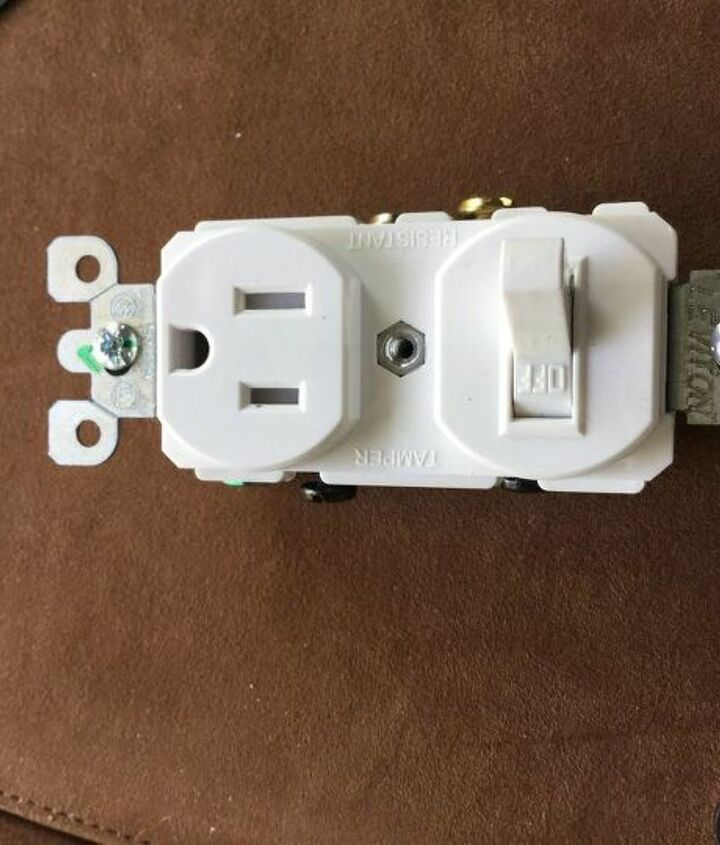 q combo switch outlet install