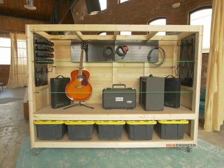 portable garage storage shelves