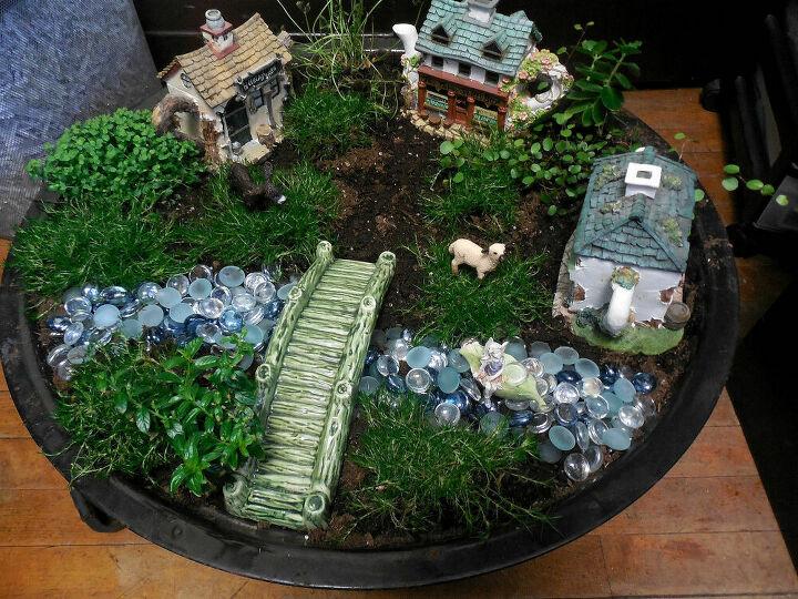 Fire Pit Bowl garden