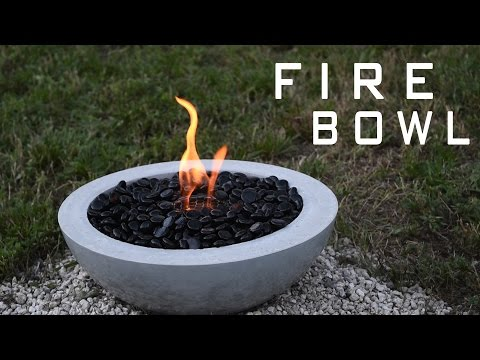 s fire bowl projects, Make a Concrete Fire Pit Bowl