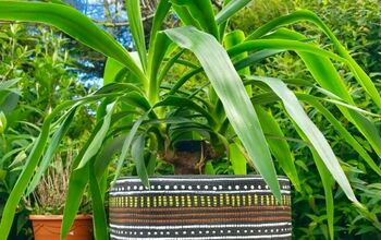 How to Create a Tribal Look Planter  With Paint Pens