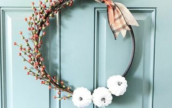 Hoop Wreath DIY