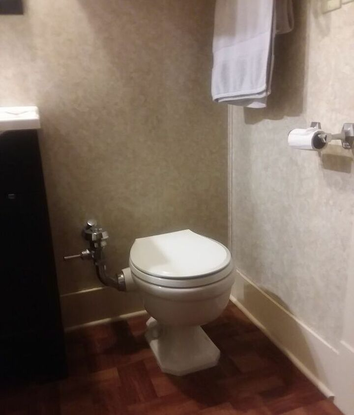q how do i change this toilet to a tank toilet