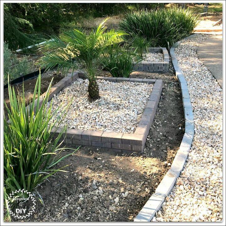 diy brick garden border and edging