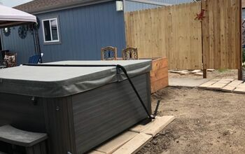 Hot Tub Privacy Fence