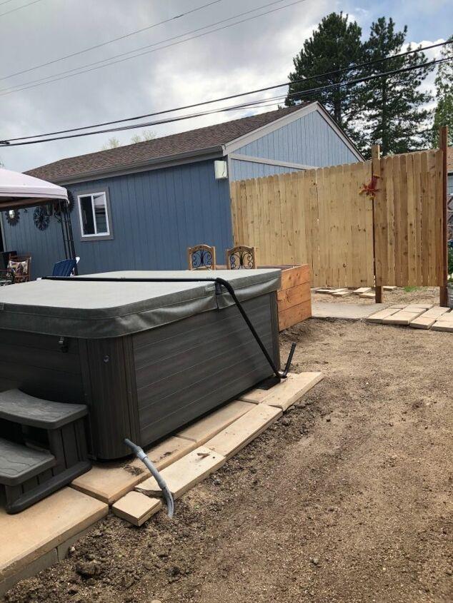 Build A Hot Tub Privacy Fence Diy