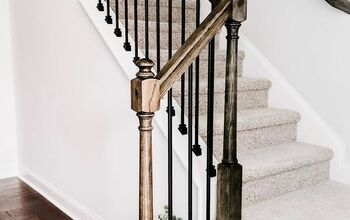 Replace Wood Stair Balusters With Iron Balusters