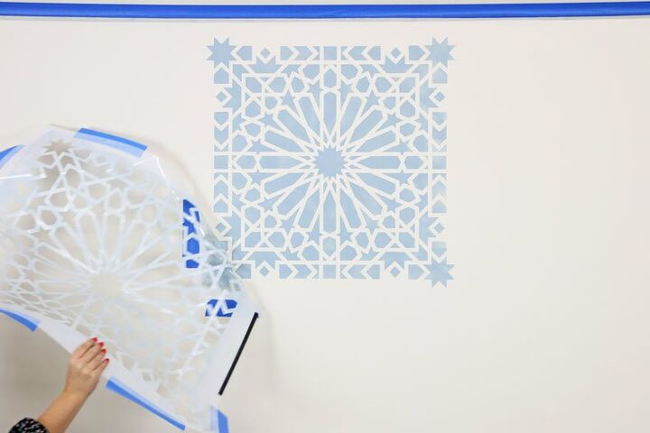 tips tricks you must know to stencil walls like a pro