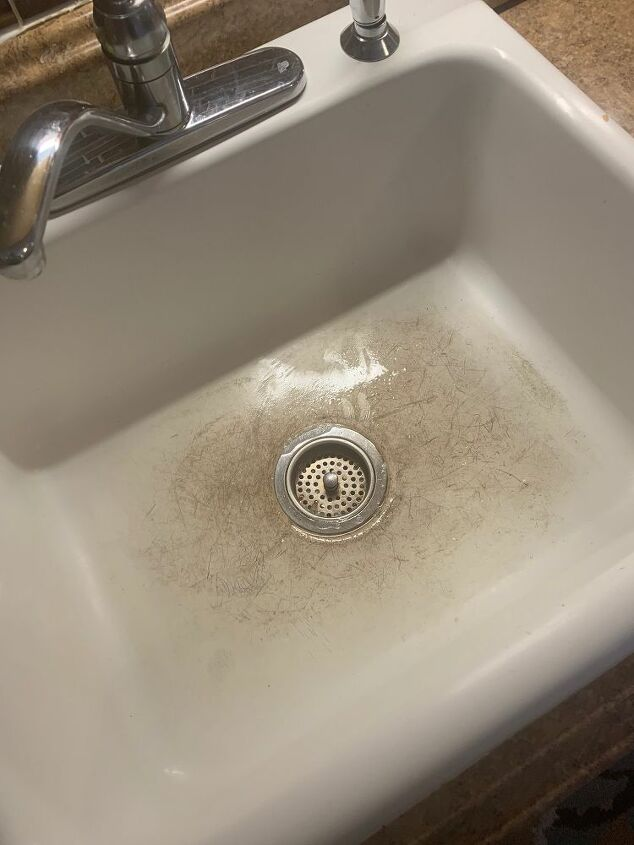 q how do i restore my white sink to it s former glory