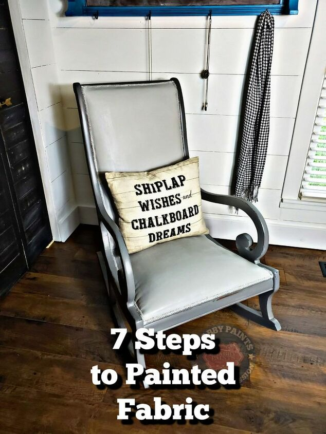 painting fabric in 7 easy steps