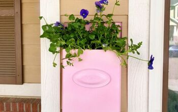 Repurposed Mailbox Planter