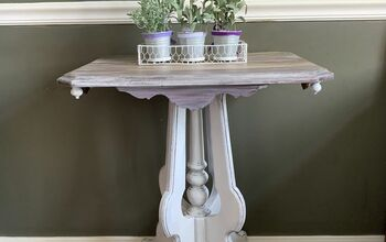 How to Paint an Antique Table White